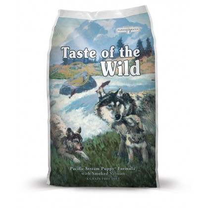 TASTE OF THE WILD PUPPY PACIFIC STREAM DOG DRY FOOD 2KG