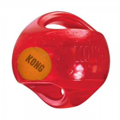 KONG JUMBLER BALL AS SORTED SMALL TMB2 (BLUE,RED,PURPLE) TOYS